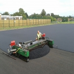 Netball Court Construction in Mains of Gray 7