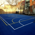 MUGA Flooring Specification in Newport 11
