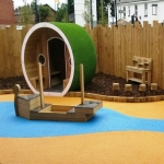 Rubber Mulch Play Areas in Alport 4