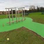 Wetpour Playground Installers in Hungladder 1