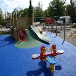 Rubber Mulch Play Areas in Abbey 10