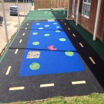 Rubber Mulch Play Areas in Wepre 11