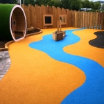 Rubber Mulch Play Areas in Wepre 9