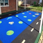 Rubber Mulch Play Areas in Abbots Worthy 3