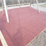 Rubber Mulch Play Areas in Altass 4