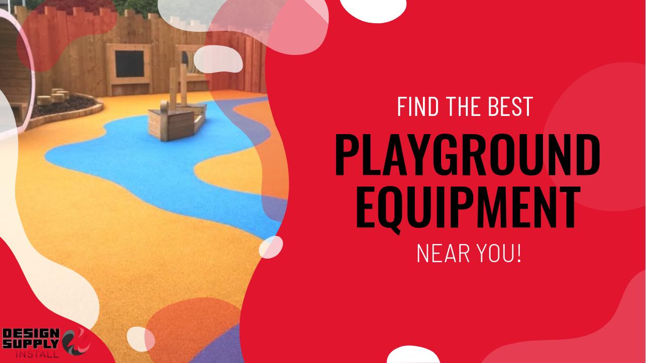 Playground equipment near me