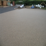 Netball Court Construction in Mains of Gray 10