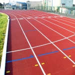 Athletics Throw Areas in Wainfelin 1