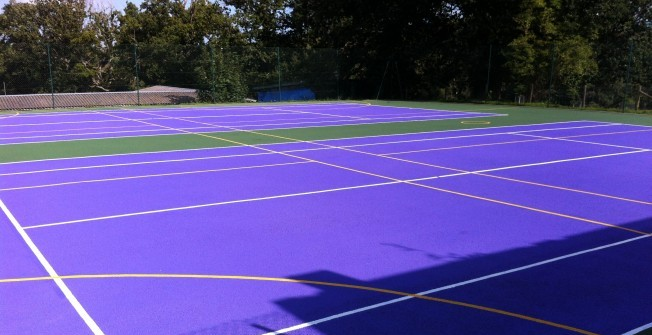 Tennis Surfacing Contractors in Abercarn