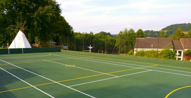 Netball Court Installers in Mains of Gray