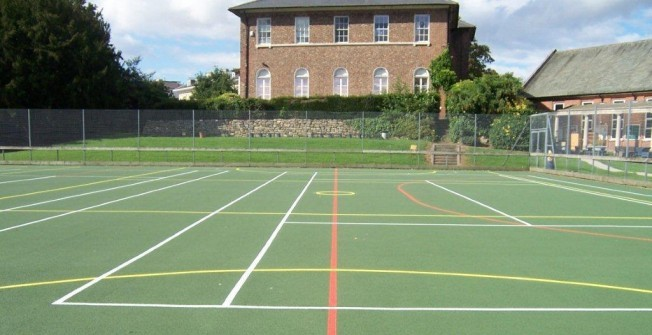 MUGA Pitch Dimensions in Ninewells