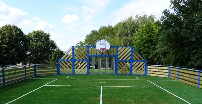 MUGA Pitch Installation Costs in Cheshire