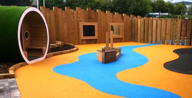 Play Area Graphics Inserts in Abney