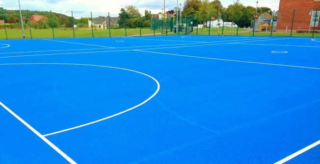 Netball Surfacing Specialists in Mains of Gray