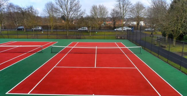 MUGA Sports Surfaces in Dundee City
