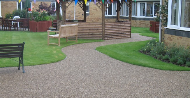 Resin Bound Gravel Paving in Ab Lench