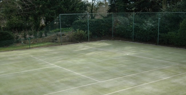 Synthetic Turf Courts in Abercarn