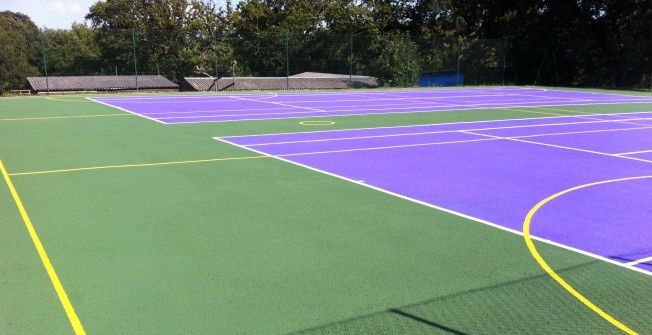 MUGA Surface Spec in Newport